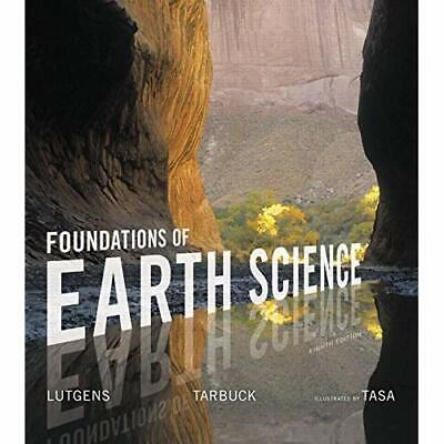 [E-B00K] Foundations of Earth Science 8th Edition by Frederick K. Lutgens [PDF]