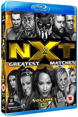 Wwe: Nxt Greatest Matches - Volume 1 (UK IMPORT) Blu-Ray NEW