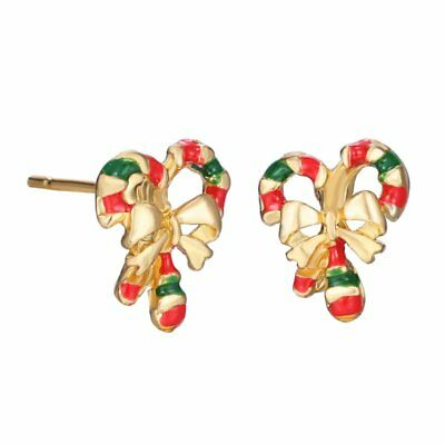 Fashion Christmas Bowknot Ear Stud Earrings Jewelry Women Xmas Party Gifts New