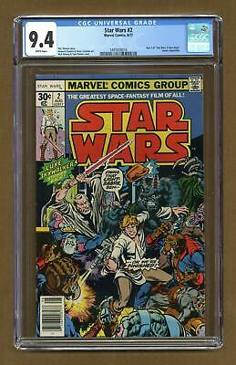 Star Wars (Marvel) #2 1977 1st Printing CGC 9.4 1497608016
