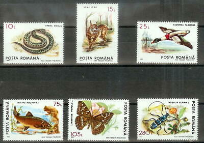 Romania Mint Stamps Sc#3829-3834 MNH
