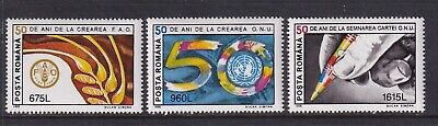 Romania Mint Stamps Sc#3987-3989 MNH