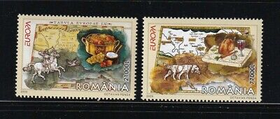 Romania Mint Stamps Sc#4729-4730 MNH CV$7