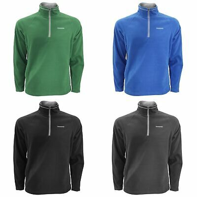 RG3567 Parkline Mens Half Zip Mini Stripe Micro Fleece Jacket