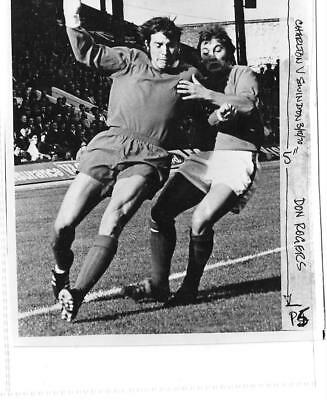 SUPERB PRESS PHOTO SWINDON TOWN (Don Rogers) V CHARLTON ATHLETIC