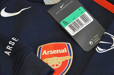 Arsenal Player Issue Nike Code 7 Thermo Fit Training Shirt XL Champions League