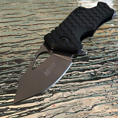 """MTech USA SPRING ASSISTED Tactical Camping Outdoor KNIFE 3"""" CLOSED"""