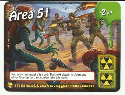 Mars Attacks The Dice Card Area 51 Promo Card 2015 Topps