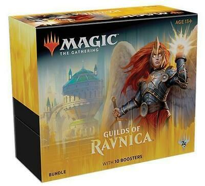 MTG Magic The Gathering Guilds Of Ravnica Bundle Fat Pack 10 Boosters