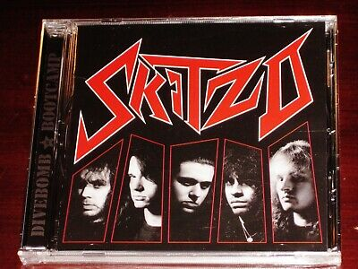 Skitzo: S/T Self Titled Same CD 2019 Tribunal / Divebomb Records USA DIVE173 NEW