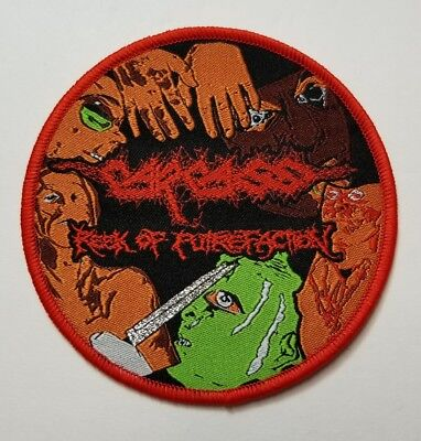Carcass reek of putrefaction WOVEN PATCH