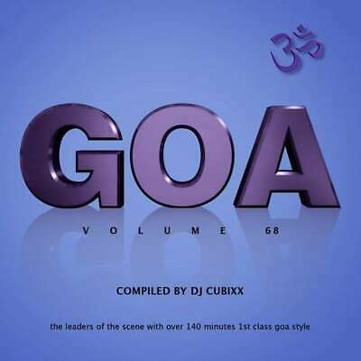 GOA Vol. 68 ( Sampler 2019 )  2 CD   NEU & OVP  01.03.2019