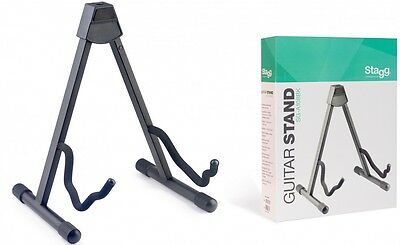 Stagg Foldable A-Frame Stand For Acoustic, Electric Or Bass Guitar - SG-A108BK