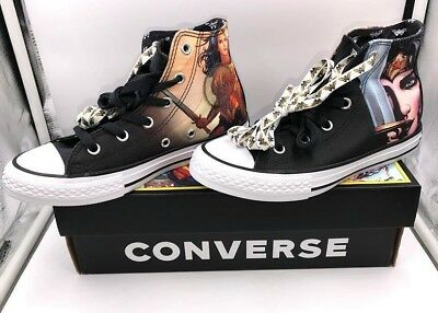 036f4d6ccbae Youth Size 1 Converse Wonder Woman Rebirth Shoes New with Box! DC 361306F  WOW!