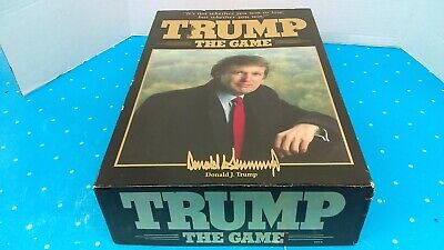 Milton Bradley 1989 Trump The Game Donald Trump Mint Never Played L@@K