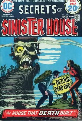 Secrets of Sinister House #18 1974 VG+ 4.5 Stock Image Low Grade