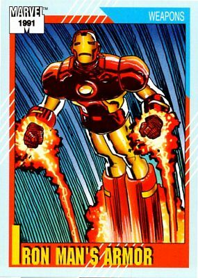 1991 Impel Marvel Universe Series II Card #133 Iron Man's Armor