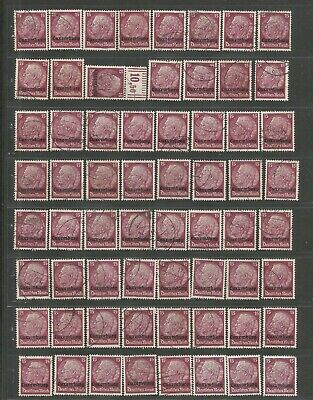 FEB 127 Luxembourg - Occup. Deutsches Reich Hindenburg 15Pf. USED/MH stamps