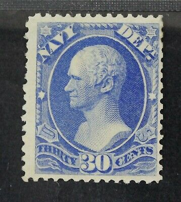 CKStamps: US Official Stamps Collection Scott#O44 30c Mint H OG Tiny Thin