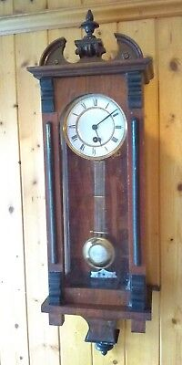 "Antique clock By PREMIER Maker ""Lenzkirch"" Vienna Regulator Numbered 13055."