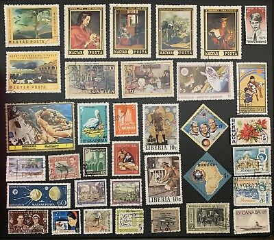 [Lot 161] 200 Different Deluxe Worldwide Stamp Collection (All Stamps Shown)