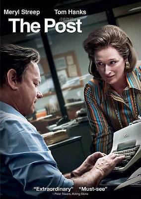 THE POST (DVD, 2018) New / Factory Sealed / Free Shipping