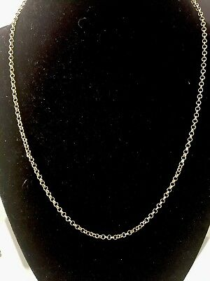 """14K IP Yellow Gold  Necklace 18""""-21"""""""