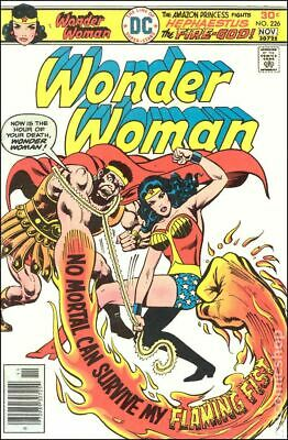 Wonder Woman (1st Series DC) #226 1976 VG+ 4.5 Stock Image Low Grade