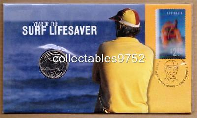 2007 Year Of The Lifesaver Twenty Cent Coin PNC with 3D Stamp