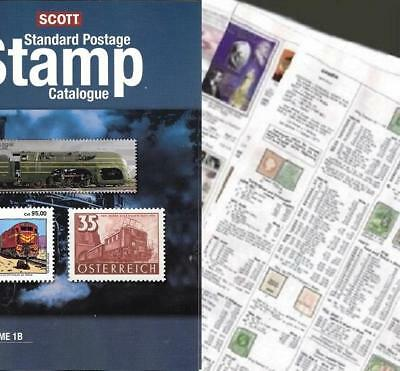 British Guiana 2019 Scott Catalogue Pages 657-662