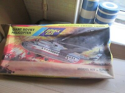 Playfix Giant Soviet Helicopter (??? Scale) Unmade In Box