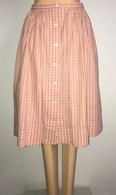 1950's Pink Cotton Skirt