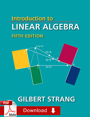 Introduction to Linear Algebra, Fifth Edition by Gilbert Strang [PDF-Ebook]