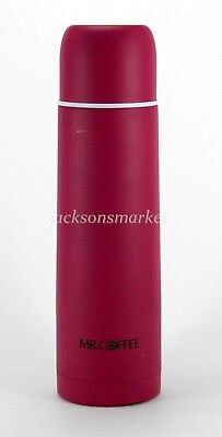 34a4224b229 Mr Coffee Stainless Interior Thermal Bottle 16 oz Pink Expressway   91879