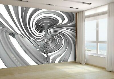 3D Illustration of Abstract Ribbons Wallpaper Mural Photo 55701609 budget paper