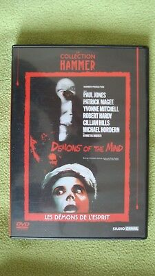 Dvd Demons Of The Mind Collection Hammer