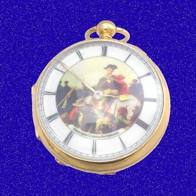 Georgian Gold Chain Fusee Verge Washington - Delaware Pocket Watch 1777
