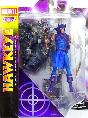 "MARVEL DIAMOND SELECT TOYS HAWKEYE ACTIONFIGURE / PVC STATUE 8"" INCH / ca. 20cm"