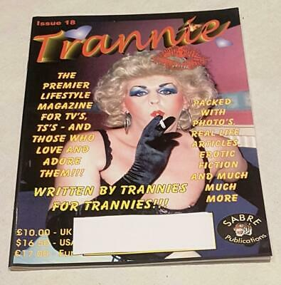 Trannie Issue #18 Transvestism Magazine From Sabre Publications