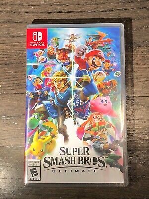 Super Smash Bros. Ultimate - Nintendo Switch BRAND NEW FACTORY SEALED. FREE SHIP