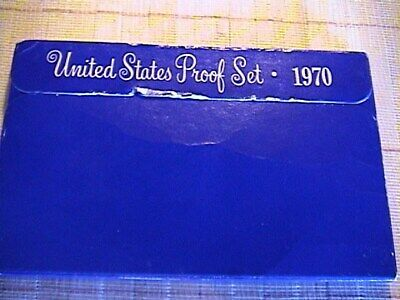 1970 S US Mint Proof Set Complete with Box