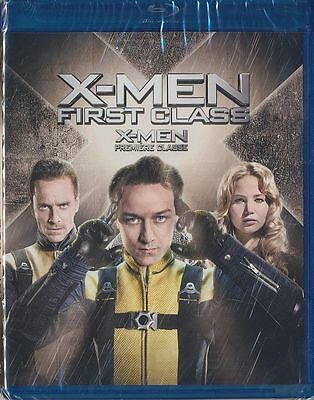 X-Men: First Class (Blu-ray Disc, 2014, Canadian) BRAND NEW