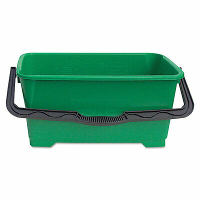"""Unger QB220 6 gallon Pro Bucket Fits 18""""Washer, Green with Black Handle"""