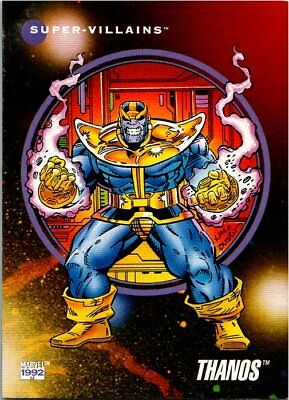 1992 Impel Marvel Universe III Card #126 Thanos