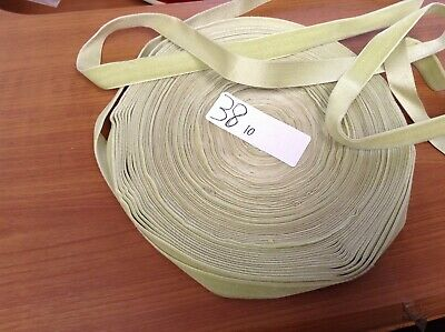"38 Yards 5/8"" HANK FRENCH Vintage Silk Rayon Satin Back Velvet Ribbon"