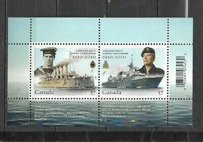 pk41641:Stamps-Canada #2384 Canadian Navy 2 x 57 cent Souvenir Sheet -MNH