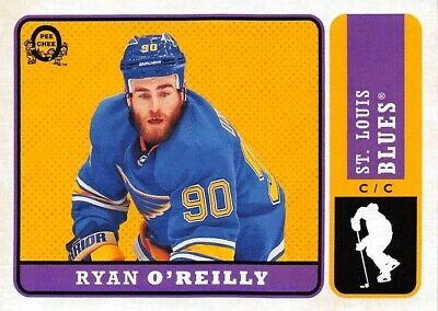 18/19 O-Pee-Chee Opc Update Retro #606 Ryan O'reilly Blues *61767