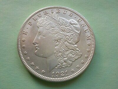 1921  -  Morgan Silver  Dollar - United States Antique Coin