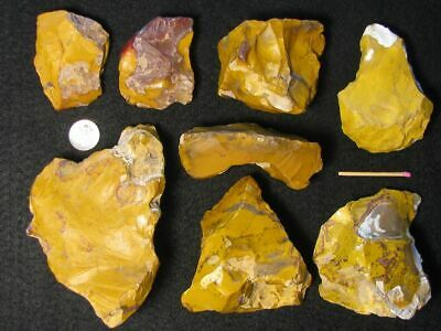 55.000Y.o:ace 8 Xl Jaspis Artifacts Fontmaure Neanderthal Paleolithic Mousterian