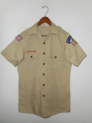BOY SCOUTS Of America UNIFORM Shirt #158 Official BSA Scout USA Adult Mens : MD